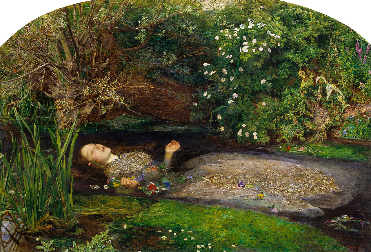 'Ophelia' by Sir John Everett Millais (1951-2)
