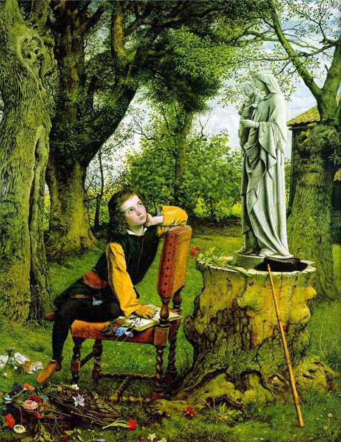 'Titian's First Essay in Colour' by William Dyce (1856-7)