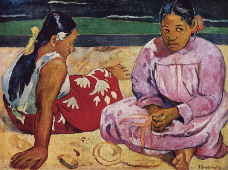 Paul Gauguin, Kvinder fra Tahiti, 1891.